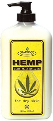 Creative Lab moist hemp body moisturizer