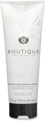 BOUTIQUE WHITE NECTARINE & PEAR BODY BUTTER