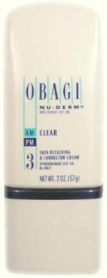 Obagi Medical Nu Derm Clear Fx Skin Brightening Cream