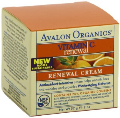 Avalon Organics Vitamin C Renewal Cream, (Pack of )
