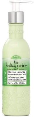 The Healing Garden Whipped Body Lotion, Vitalizing Green Tea
