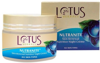 Lotus Herbals Nutranite Skin Renewal Nutritive Night Cream
