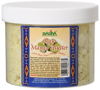 madina Raw Mango butter (16oz) is obtained from the kernels of the mango tree