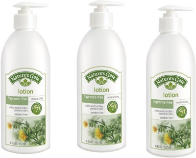 Nature,S Fragrance-Free Moisturizing Lotion, (Pack Of 3)
