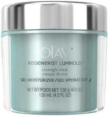 Olay Regenerist Luminou Overnight Facial Mask Gel Moisturizer(130 ml) at flipkart