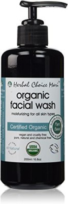 Herbal Choice Mari organic facial wash moisturizing for all skin types