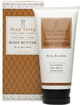 Deep Steep Body Butter, Brown Sugar Vanilla