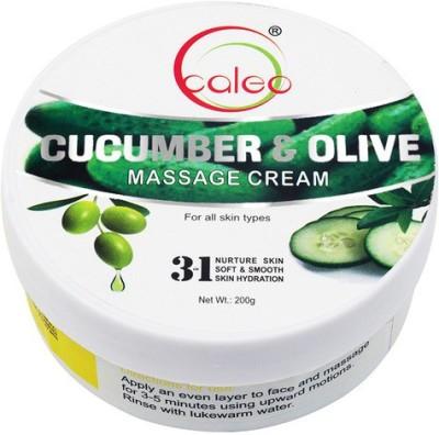 Caleo Cucumber Olive Massage Cream