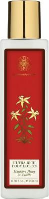 Forest Essentials Ultra-rich Body Lotion Mashobra Honey & Vanilla