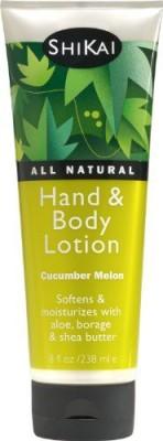 ShiKai Cucumber Melon Hand & Body Lotion, - Bottle (Pack Of 4)