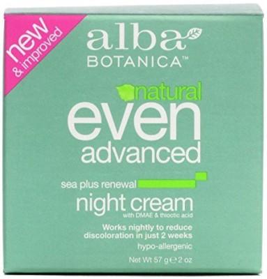 Alba Botanica Natural Even Advanced Sea Plus Renewal Night Cream