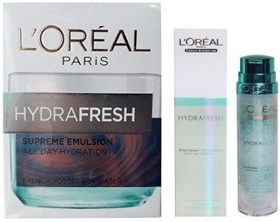L,Oreal Paris Hydra Fresh + Supreme Emulsion