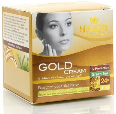 Majesty Gold Cream With UV Protection & Green Tea