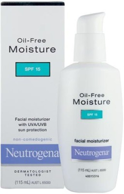 Neutrogena Oil-Free Moisture SPF15 Facial With UV Sun Protection