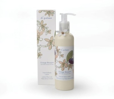 Di Palomo orange blossom with wild honey & olive oil hand & body lotion by 8.4 oz