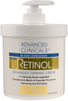 Advanced Clinicals Spa Size Retinol Firming Cream - Anti-aging.