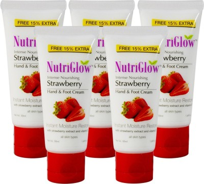 NutriGlow Strawberry Hand & Foot Cream(50 ml)