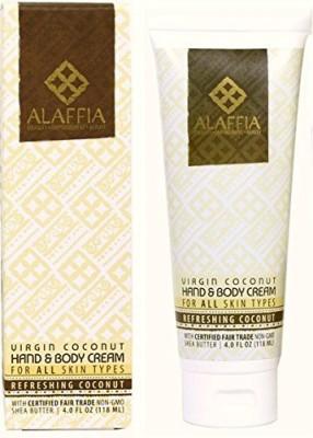 Alaffia virgin coconut hand