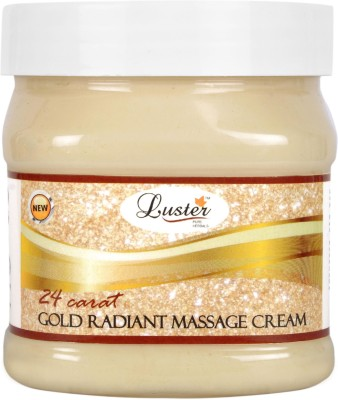 Luster 24 Carat Radiant Gold Massage Cream