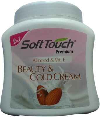 SoftTouch Premium Beauty & Cold Cream - Almond & Vit. E