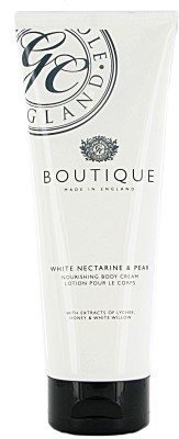 Grace Cole Boutique White Nectarine & Pear Nourishing Body Cream Lotion