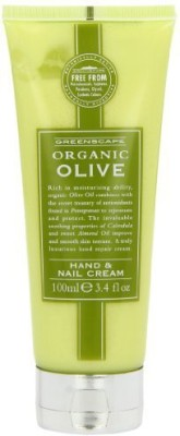 Greenscape Organic OLIVE Natural Luxurious Hand And Nail Cream