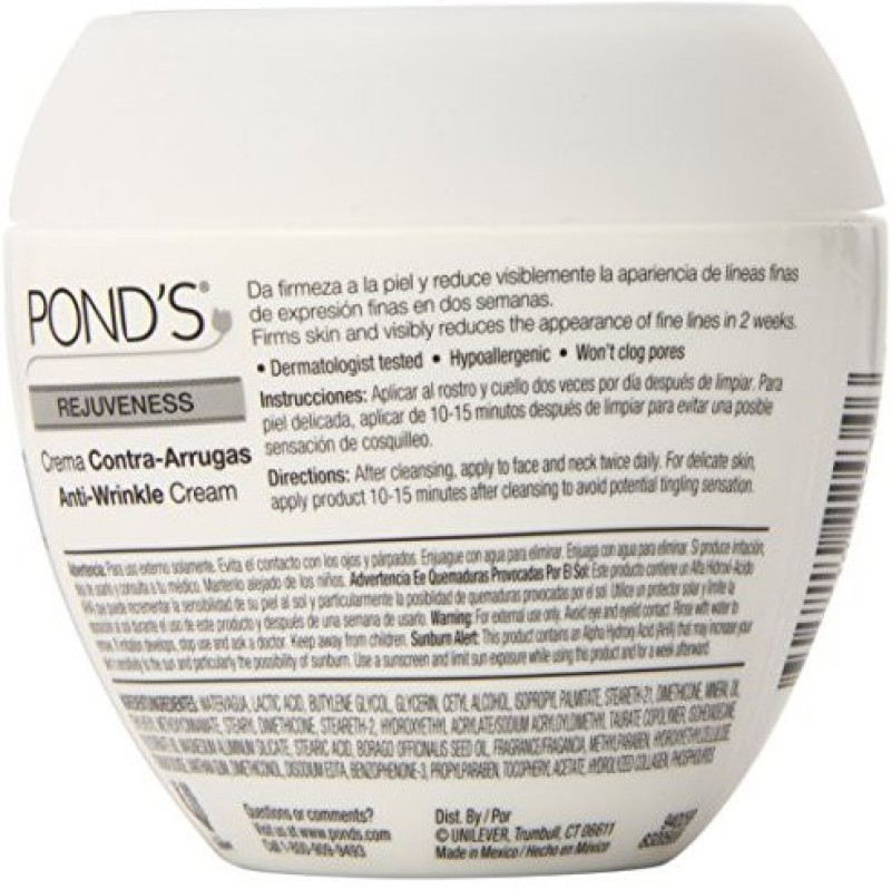 Pond's Anti-Wrinkle Cream, Rejuveness 7 oz(210 ml)