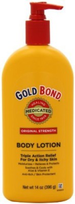 Gold Bond Medicated Body Lotion, - Pump Bottle