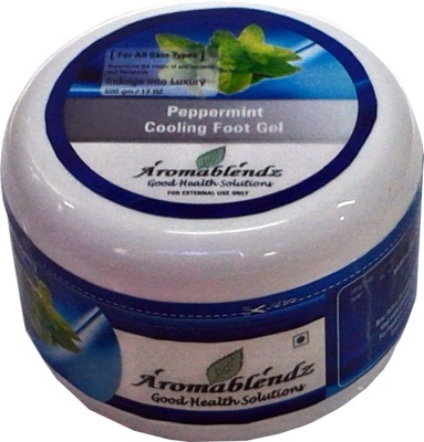 Aromablendz Peppermint Cooling Foot Gel