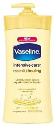 Vaseline Intensive Care Essential Healing Lotion, Packaging May Vary, (Pack of 3)