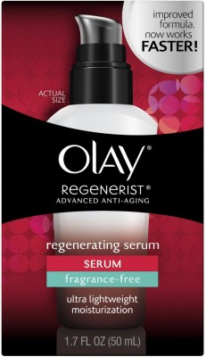 Olay Regenerist Advanced Anti- Aging Serum ultra light weight moisturisation