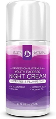 InstaNatural The Best Night Cream Moisturizer Treatment For Face