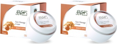 Jovees Face Massage Cream Wheat Germ combo