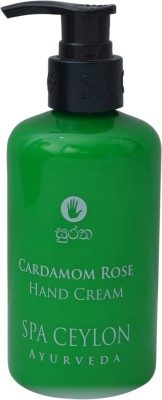 Spa Ceylon Luxury Ayurveda Cardamom Rose Hand Cream