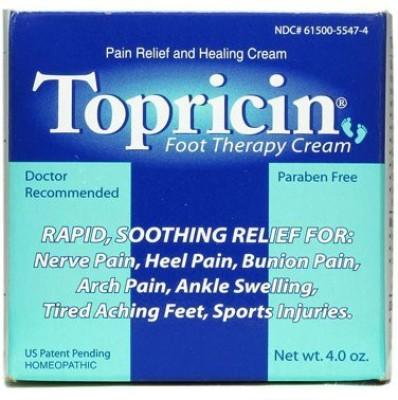 Topical Biomedics Topricin Foot Therapy Cream