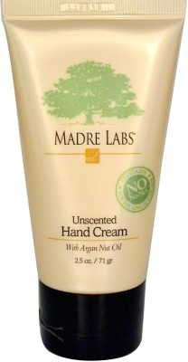 Madre Labs Hand Cream, With Argan Nut Oil, Unscented