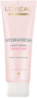 L ,Oreal Paris Hydrafresh Foaming Cream