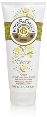 Roger & Gallet Cedrat ( Citron )for Women Moisturizing Refreshing Fragrant Body Lotion