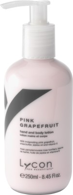 Lycon Pink Grapefruit Hand & Body Lotion