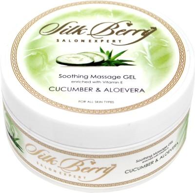 Silk Berry Cucumber Soothing Massage Gel