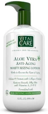 Vital Care Aloe Vera Anti Aging Moisturizing