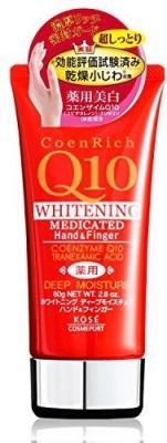 Coen Rich KOSE COSMEPORT Q10 White Deep Moisture Hand & Finer Cream (Japan Import)