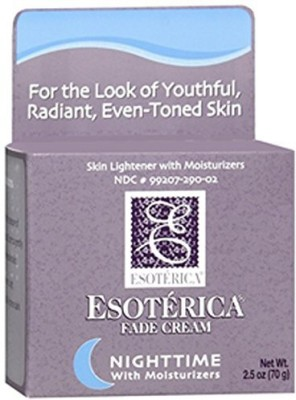 Esoterica fade cream nighttime with moisturizers
