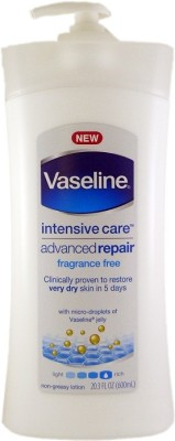 Vaseline Intensive Care Advanced Repair Fragrance Free Body Lotion