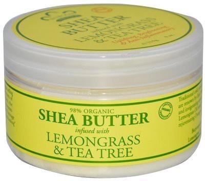 Nubian Heritage Shea Butter Lotion, Lemongrass and Tea Tree