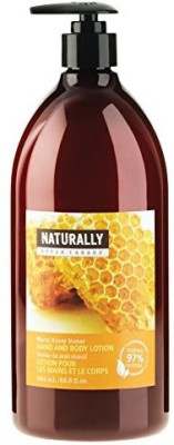 Upper Canada Soap naturally hand and body lotion, warm honey nectar, 32.5-ounce