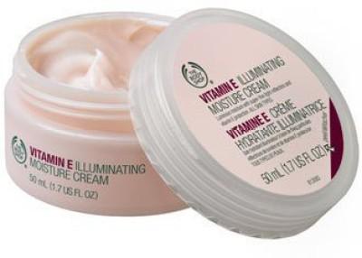 The Body Shop Vitamin E Illuminating Moisture Cream, -Fluid