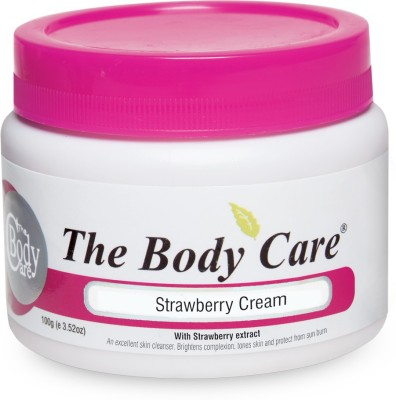 the body care Strawberry Cream