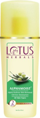Lotus Alphamoist Alpha Hydroxy Skin Renewal Oil Free Moisturizer(80 ml)