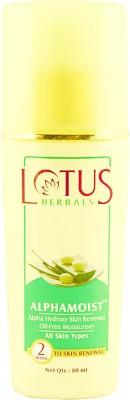 Lotus Alphamoist Alpha Hydroxy Skin Renewal Oil Free Moisturizer